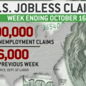 First-time unemployment claims fall to new pandemic-era low